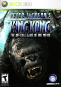 Peter Jackson's King Kong: The Official Game of the Movie Xbox 360 Front Cover