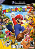 Mario Party 7 GameCube Front Cover