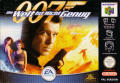 007: The World is Not Enough Nintendo 64 Front Cover