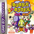 Bubble Bobble Old & New Game Boy Advance Front Cover