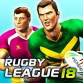 Rugby League 18 iPad Front Cover