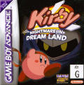 Kirby: Nightmare in Dreamland Game Boy Advance Front Cover
