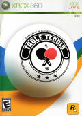 Rockstar Games presents Table Tennis Xbox 360 Front Cover