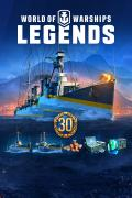 World of Warships: Legends (Deluxe Edition) Xbox One Front Cover