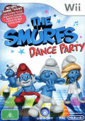 The Smurfs: Dance Party Wii Front Cover