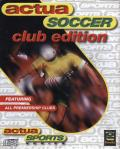 Actua Soccer: Club Edition DOS Front Cover