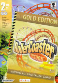 RollerCoaster Tycoon: Gold Edition Windows Front Cover Originally submitted by Garcia