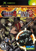 Metal Slug 4 & 5 Xbox Front Cover