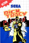 Dick Tracy SEGA Master System Front Cover