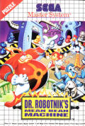 Dr. Robotnik's Mean Bean Machine SEGA Master System Front Cover