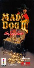 Mad Dog II: The Lost Gold 3DO Front Cover