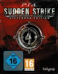 Sudden Strike 4 (Steelbook Edition) PlayStation 4 Front Cover
