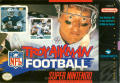 Troy Aikman NFL Football SNES Front Cover