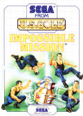 Impossible Mission SEGA Master System Front Cover
