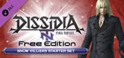 Dissidia: Final Fantasy NT Free Edition - Snow Villiers Starter Set Windows Front Cover