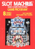 Slot Machine Atari 2600 Front Cover