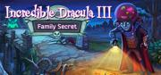 Incredible Dracula III: Family Secret (Collector's Edition) Macintosh Front Cover