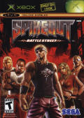 Spikeout: Battle Street Xbox Front Cover