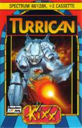 Turrican ZX Spectrum Front Cover