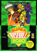 Super Baseball 2020 Genesis Front Cover