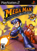 Mega Man: Anniversary Collection PlayStation 2 Front Cover