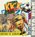 Kick Off 2: Return To Europe Atari ST Front Cover