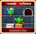 Solomon's Key Nintendo Switch Front Cover