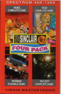 Your Sinclair Four Pack October 1990 ZX Spectrum Front Cover