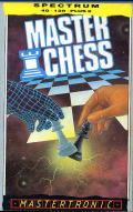 Master Chess ZX Spectrum Front Cover