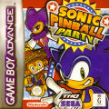 Sonic Pinball Party Game Boy Advance Front Cover
