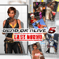 Dead or Alive 5: Last Round - Last Round Lisa Content PlayStation 4 Front Cover