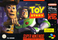 Disney's Toy Story SNES Front Cover