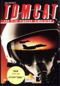 Dan Kitchen's Tomcat: The F-14 Fighter Simulator Atari 2600 Front Cover