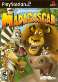Madagascar PlayStation 2 Front Cover