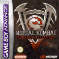 Mortal Kombat: Deadly Alliance Game Boy Advance Front Cover