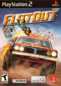 FlatOut PlayStation 2 Front Cover