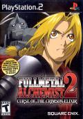 Fullmetal Alchemist 2: Curse of the Crimson Elixir PlayStation 2 Front Cover