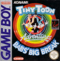 Tiny Toon Adventures: Babs' Big Break Game Boy Front Cover