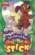 Putt-Putt and Pep's Dog on a Stick Macintosh Front Cover