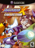 Mega Man X Collection GameCube Front Cover