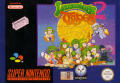 Lemmings 2: The Tribes SNES Front Cover