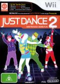Just Dance 2 Wii Front Cover