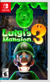 Luigi's Mansion 3 Nintendo Switch Front Cover 1st version
