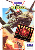 Desert Strike: Return to the Gulf SEGA Master System Front Cover