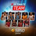 NBA Live 16: Ultimate Team - 5850 Points PlayStation 4 Front Cover