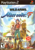 Wild Arms Alter Code: F PlayStation 2 Front Cover