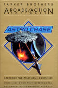 Astro Chase Atari 8-bit Front Cover