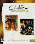 Indiana Jones and the Fate of Atlantis / Full Throttle DOS Front Cover
