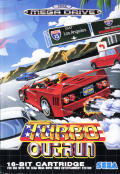 Turbo Out Run Genesis Front Cover