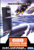688 Attack Sub Genesis Front Cover